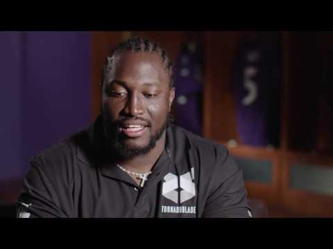 Stephane Nembot Speaks In French | Baltimore Ravens
