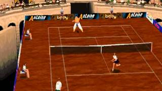 Smou plays Tennis Arena (PS1)