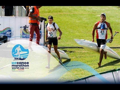 2018 ICF Canoe Marathon World Cup Viana Do Castelo / Long Distance Junior