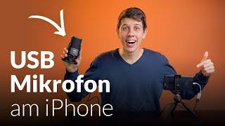 Externes USB Mikrofon – iPhone Video aufnehmen