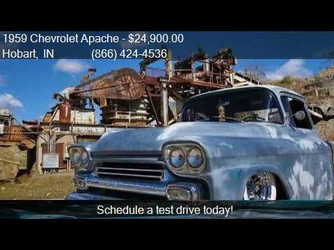 1959 Chevrolet Apache Pickup For Sale In Hobart In 46342 At Youtube