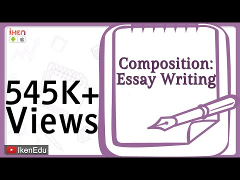 essay writing  youtube learn english composition  essay writing  duration  iken edu  views