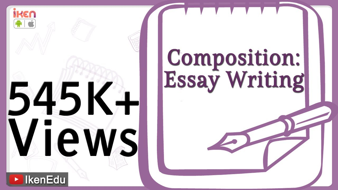 Learn English Composition  Essay Writing  Youtube