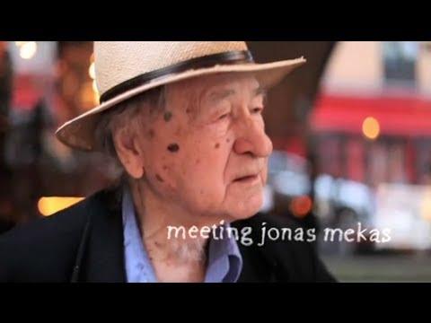 A Talk with Avandgarde Film Maker Jonas Mekas in NYC, Oct. 2010