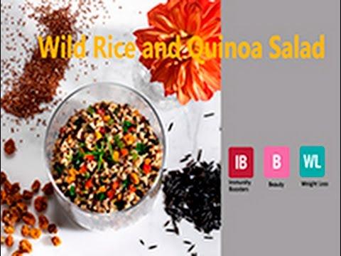 Wild Rice and Quinoa Salad