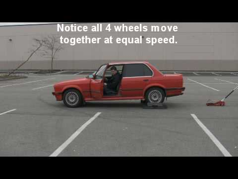 Bmw E30 325ix Transfer Case And Viscous Coupling Test Youtube