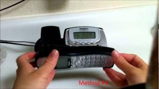 Uniden Phone Reset, Restore, and Deregistration