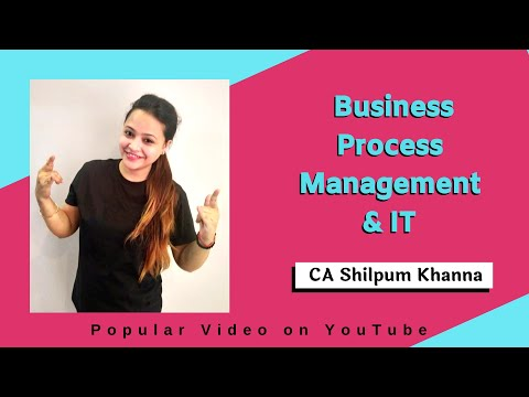 Business Process Management & IT for CA IPCC ITSM by CA Shilpum Khanna