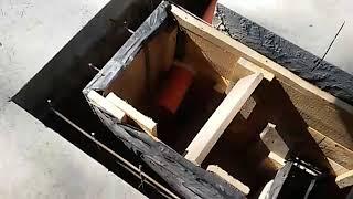 21 05 2018г  14 й день бетонирование стен лотка пескоуловителя часть 1(, 2018-05-21T14:50:03.000Z)