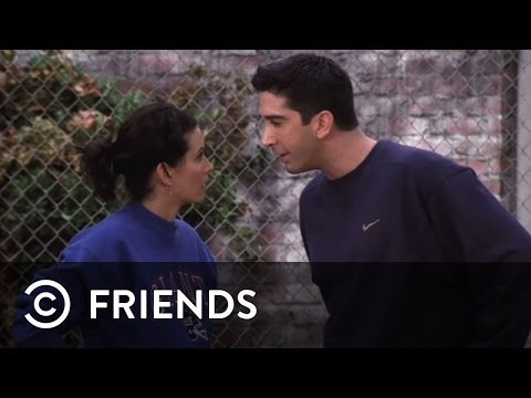 The Thanksgiving Football Game for the Geller Cup | Friends