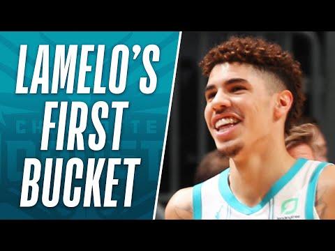LaMelo Ball Drains His First Bucket Of The #NBAPreseason 🔥