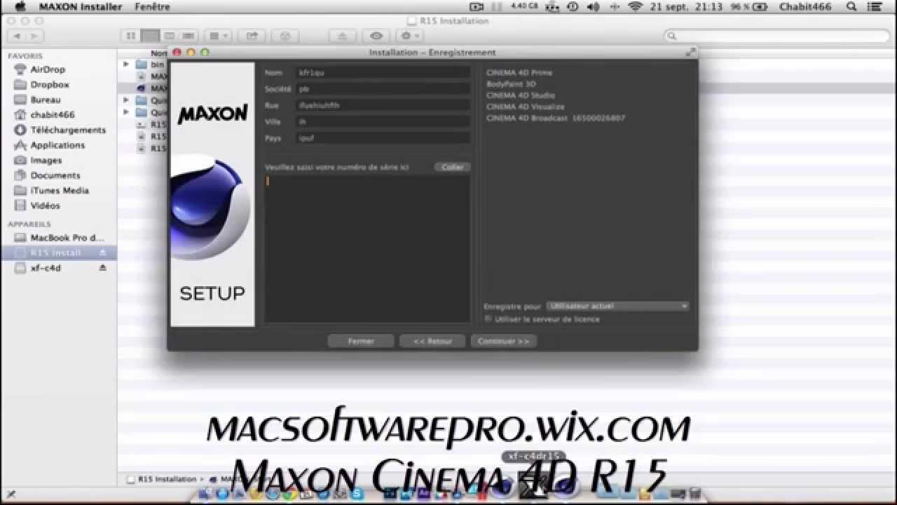 cinema 4d r15 mac free