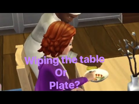 Sims Mobile•Wiping the Table or Food? Ep:1