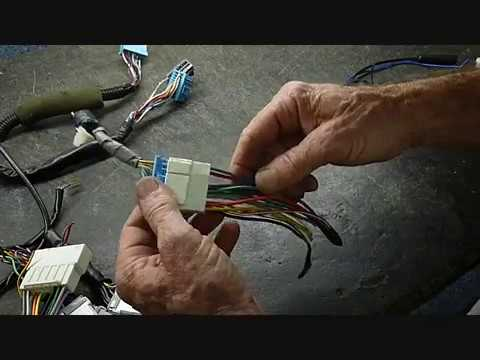 Acura and Honda Wire Harness and Aftermarket Hook Up - YouTube