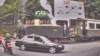 reborn of gondangwinangoen steam locomotive loko uap yg sdh lama mati berhasil dihidupkan kembali