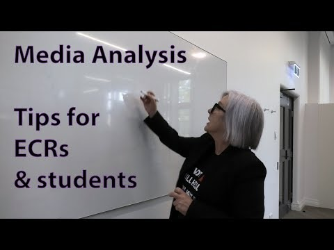 Media Research Content Analysis With Shannon Sampert - Tips For Masters, PhD, & Undergrads