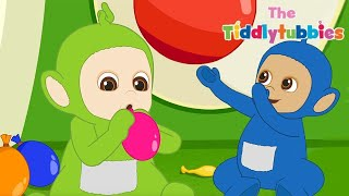 Tiddlytubbies NEW Season 2! | Episode 6: Big Red Ball | Teletubbies Babies | Cartoons For Kids