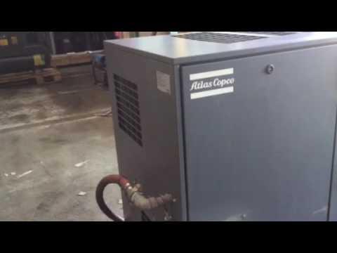30 H.p. air compressor Atlas copco GA22 Used