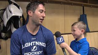 Junior Reporter - One on one with Tyler Johnson - 20161017
