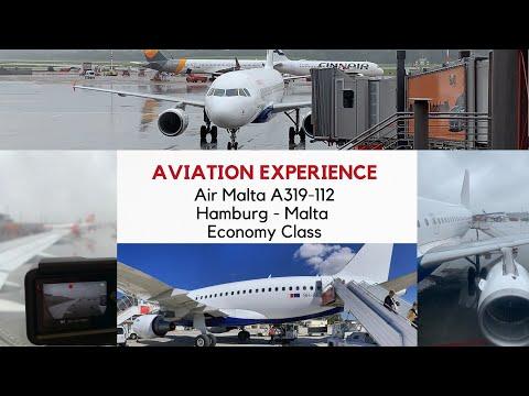 JUST A BETTER RYANAIR? ✈FLIGHT REPORT✈ Air Malta's LAST A319 HAMBURG - MALTA