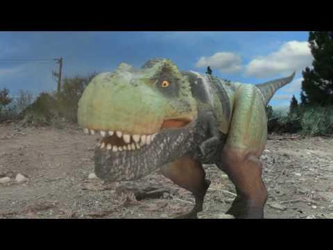 T-Rex vs Roboraptor