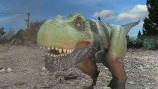 T-Rex vs Roboraptor (Dinosaur Attack 2 Deleted Scene)