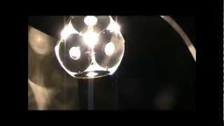 Как сделать люстру LED светильник своими руками из CD дисков