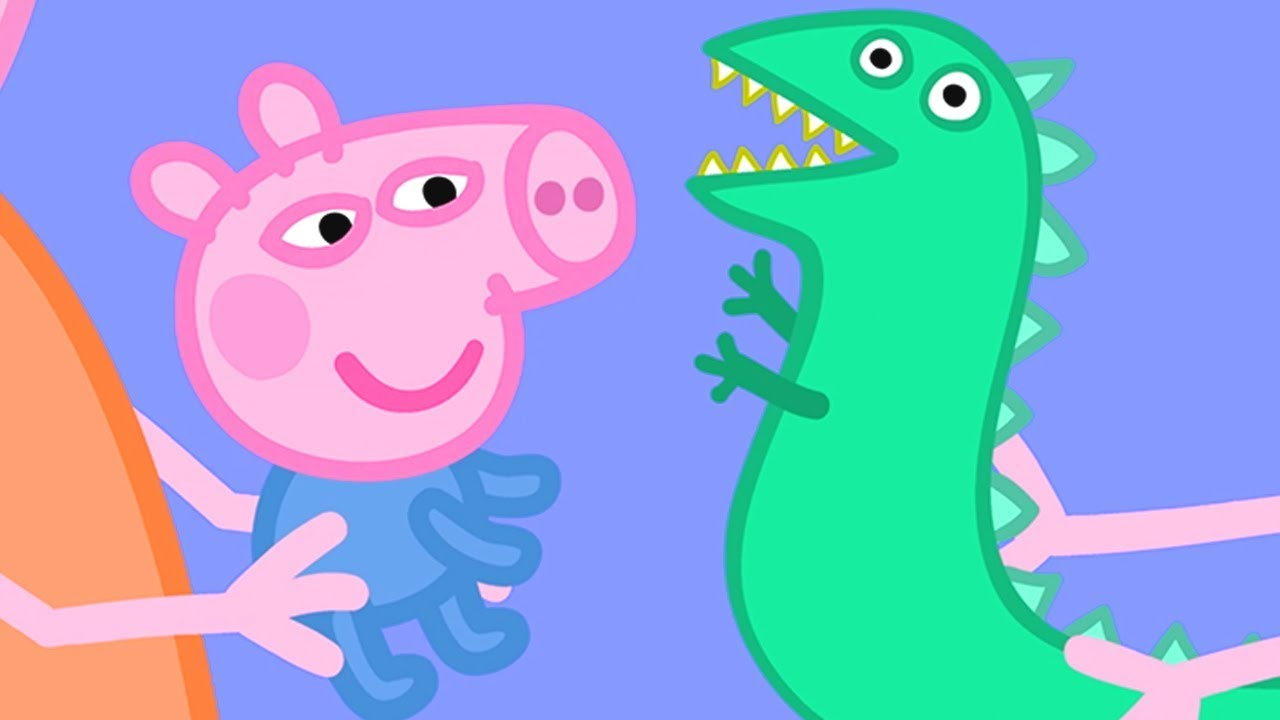 Peppa Pig English Episodes | Baby George and Mr Dinosaur! | Cartoons for Children #176
