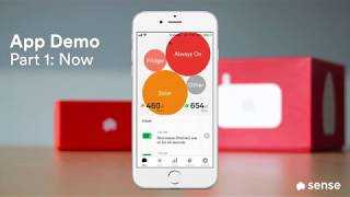 Sense App Demo | 1 of 4 | The Now Screen