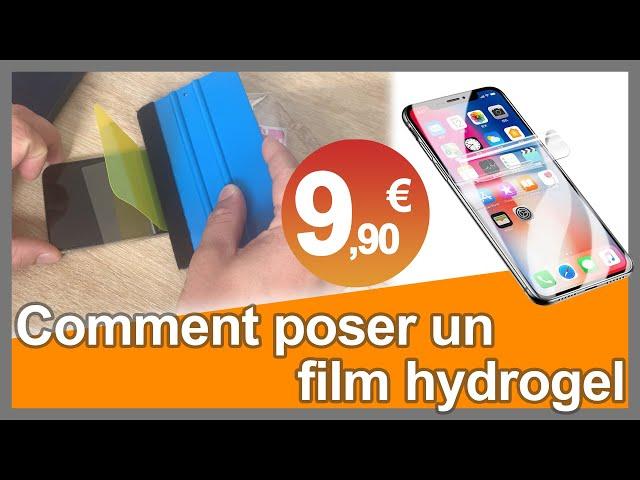 Comment réussir la pose d'un film hydrogel