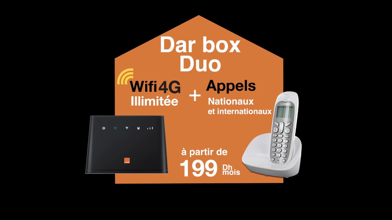 internet 4g illimit orange dar box duo youtube