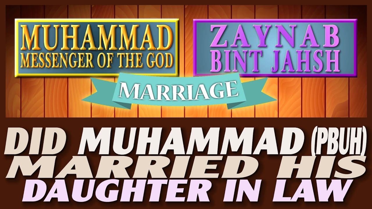 Image result for muhammad married zainab