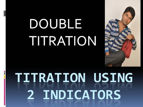 DOUBLE TITRATION |TITRATION USING 2 INDICATOR| |JEE| |CLASS 11|