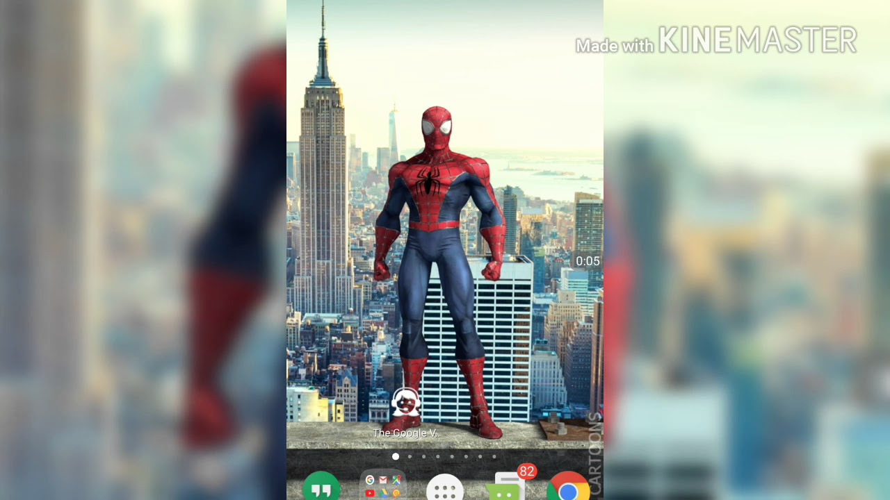 Live Wallpaper Spiderman For Mobile How Install Amazing