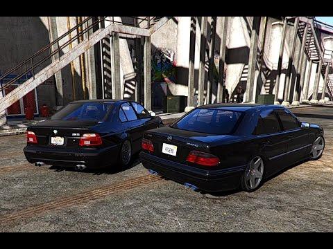 GTA V | BMW M5 E39 VS. MERCEDES E55 W210 ✪ GTA 5