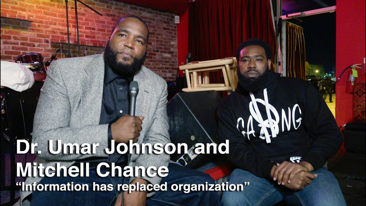Dr. Umar Johnson & Mitchell Chance -