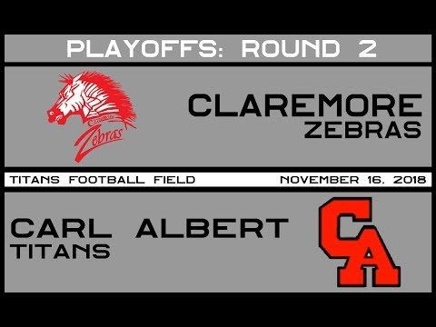 Football: Claremore vs Carl Albert