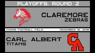 Football: Claremore vs Carl Albert