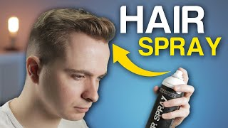 How To Use Hair Spray WITHOUT A Crispy Finish