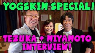 SHIGERU MIYAMOTO, TAKASHI TEZUKA & YOGSCAST KIM!