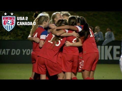 U-17 WNT vs. Canada: Highlights - Feb. 13, 2015