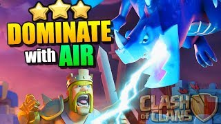 AIR ATTACKS are DOMINATING in Clash of Clans!! TH10 Attack Strategy 3 Star Tips!