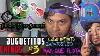 👲JUGUETITOS CHINOS #3 👲 | CUBO INFINITO | IMANES QUE FLOTAN