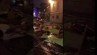 Забастовка в Париже 2