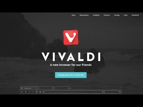Vivaldi Web Browser on Ubuntu 14.04/14.10