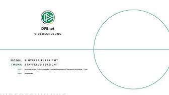 Zurücknahme der Vereinsfreigabe durch Staffelleiter | DFBnet Videoschulung