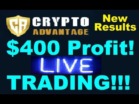 Crypto Advantage Review - $400 Profit in 30 Minutes! LIVE Trading (Watch Now)