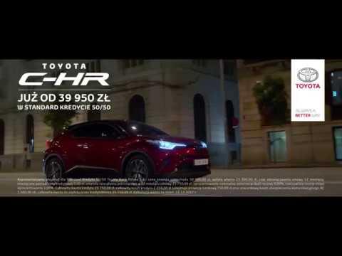 Toyota C-HR. Napędzana zachwytem