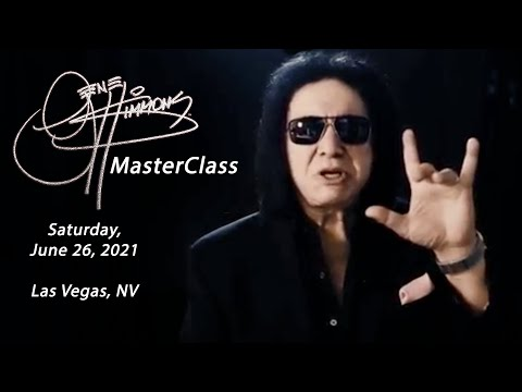 The Gene Simmons Master Class 2017