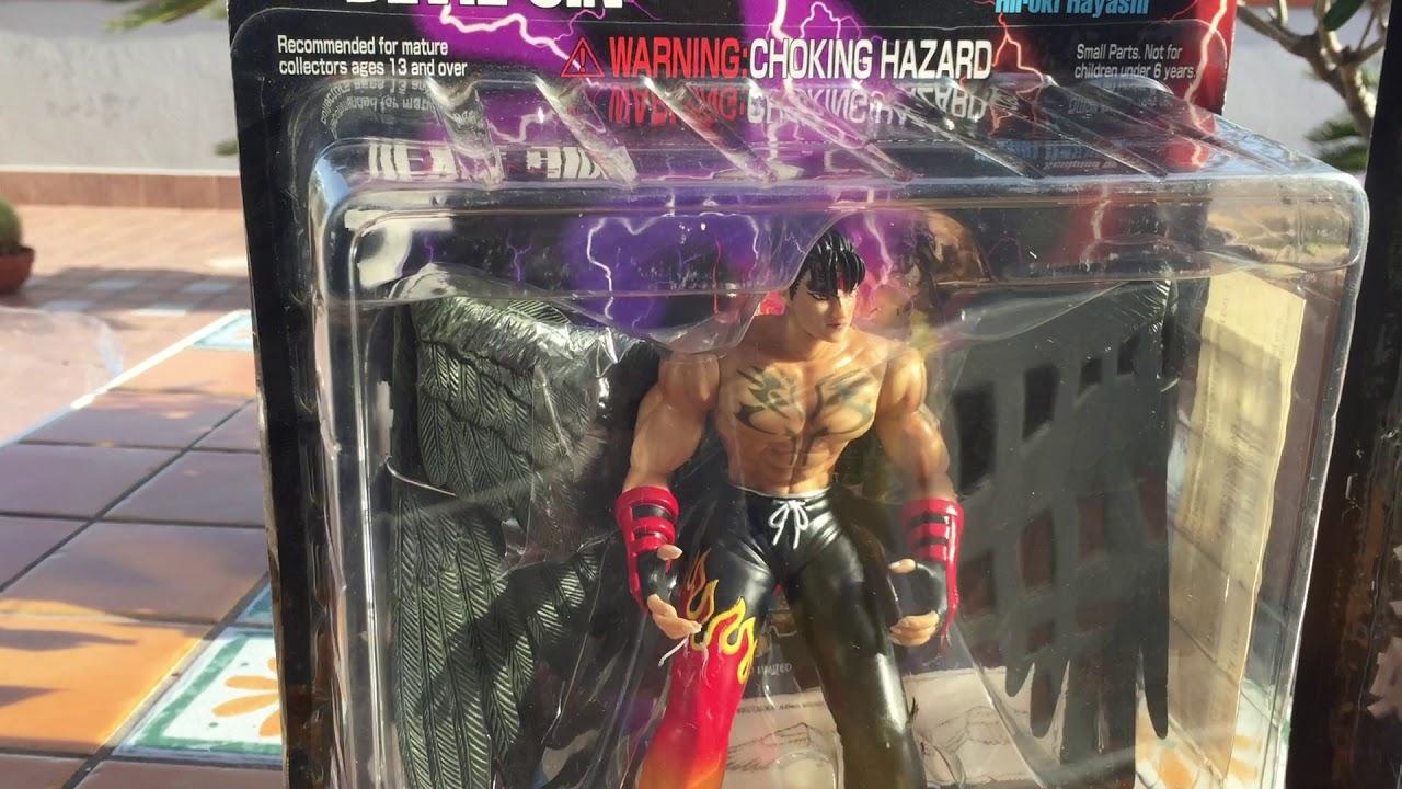 Tekken 3 Epoch Action Figures Devil Jin Xiaoyu Youtube